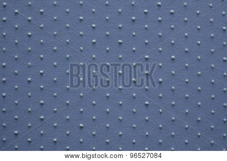 Knitted Fabric Of Pale Blue Color With Fluffy Blond Specks