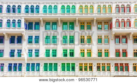 Colorful Building Of Ministry Of Culture, Community And Youth In Singapore