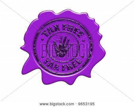 Tax Free Wax Seal