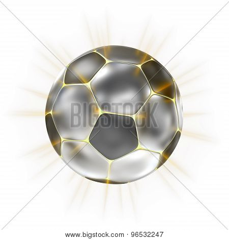 Stylized Soccer Football