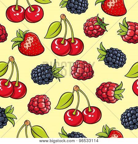 Berries Pattern 3