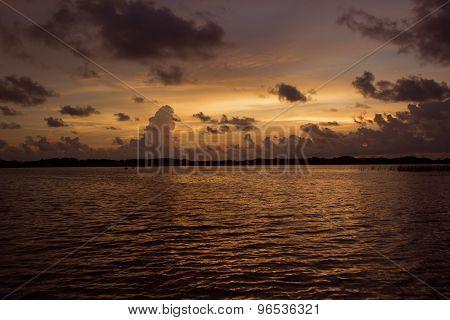 Majestic Lake Sunset