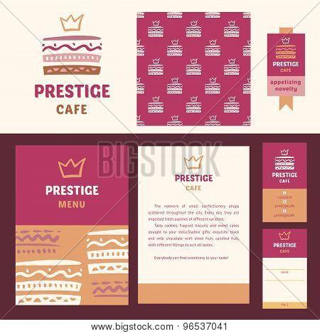 Prestige cafe, elegant style.