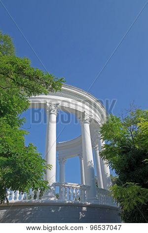 Architectural Construction With Columns