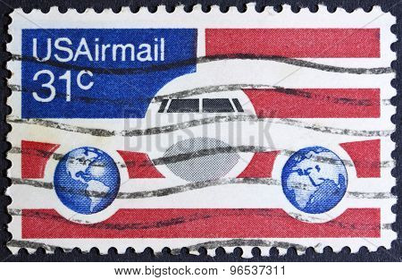 USA Airmail safely delivered to your door.