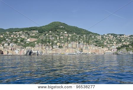 View Of The Harbor Of Camogli