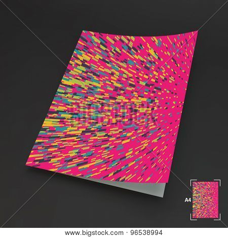 Abstract Technology Background. Vector Illustration. Can Be Used For Marketing, Website, Print And Presentation.