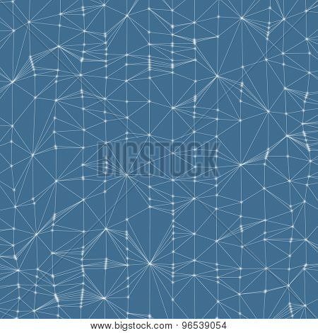 3d abstract background. Technology vector illustration. Can be used for banner, flyer, book cover, poster, presentation.