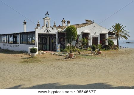 Andalusian Restaurant In The Beach