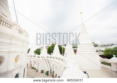 Temple In Bangkok,  Thailand