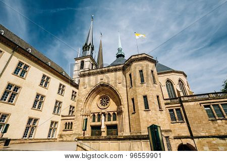 Notre-Dame Cathedral, Luxembourg is the Roman Catholic Cathedral
