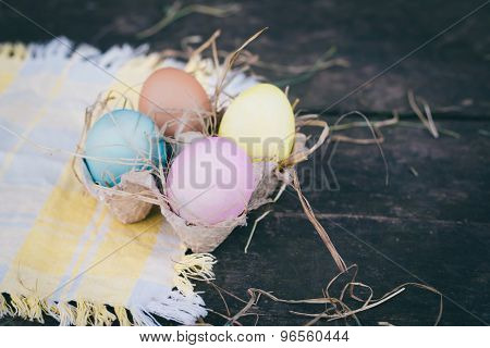 Easter Eggs Composition