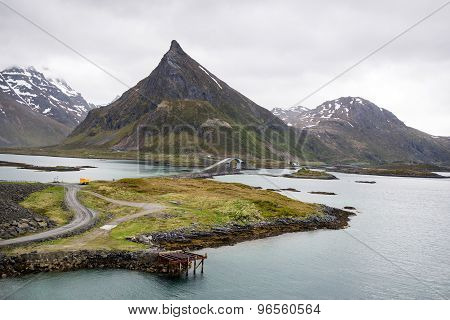mountain view - Lofoten Islands, Norway