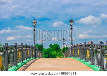 Bridge In Tsaritsyno Park, Moscow