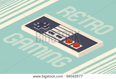 Retro Gaming Vector Illustration