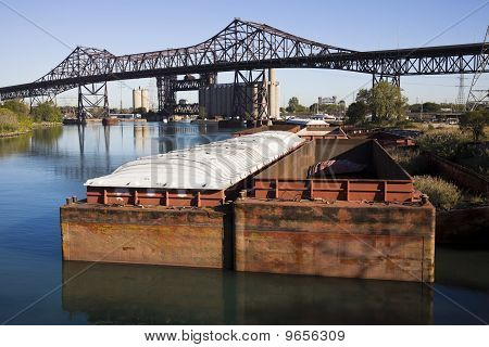 Barges In Chicago