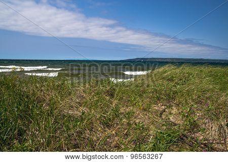 Lakeshore Background