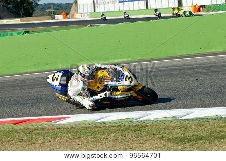 Rome, Italy - September 30 2007. Superbike Championship, Vallelunga Circuit. Max Biaggi