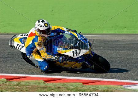 Rome, Italy - September 30 2007. Superbike Championship, Vallelunga Circuit. Norino Brignola