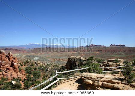 Utah Desert View