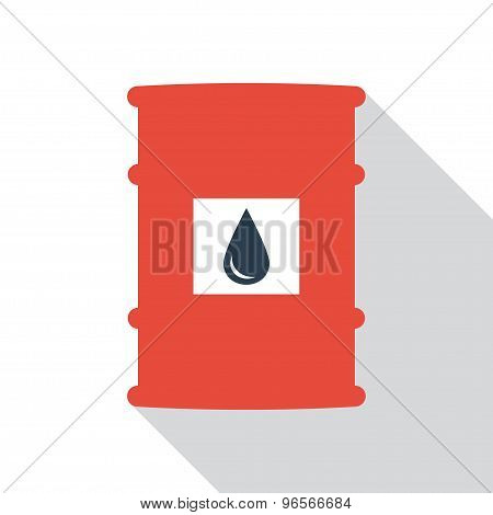 Barrel Of Oil Vector.