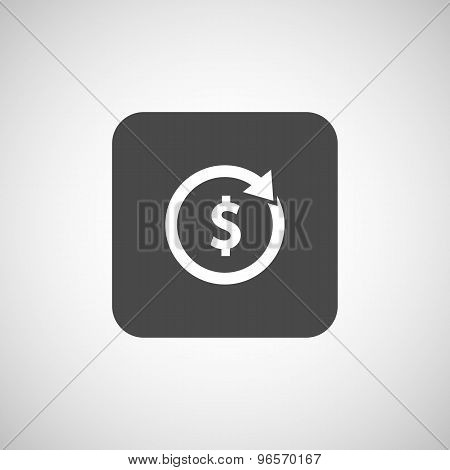 Arrow and money Vector version is also available