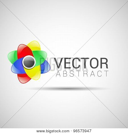 abstract vector logo design template abstract isolated