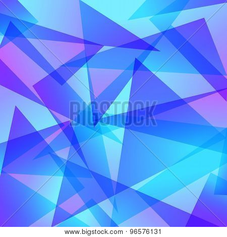 red blue Fractal Abstract Background in different colors