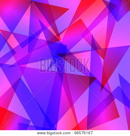 blue red Fractal Abstract Background in different colors
