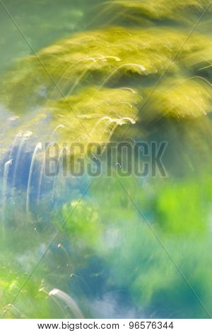 Abstract Background Yellow And Green