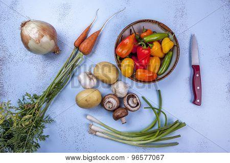 Vegetable Ingredients.