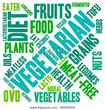 Vegetarian Word Cloud