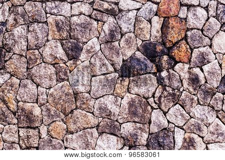 Stone Wall texture, background.