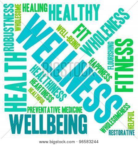 Wellness Word Cloud