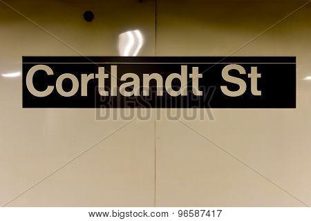Cortlandt Street Station - New York