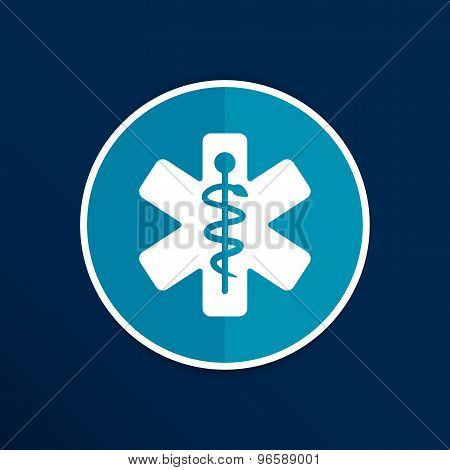 Medical icons silhouette vector illustration doctor.