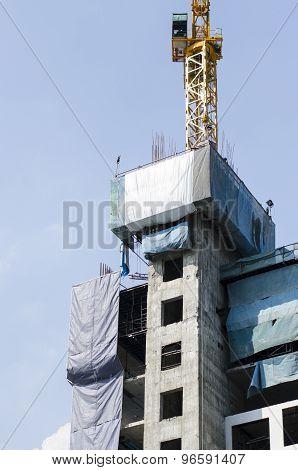 Construction Site,condominium Building