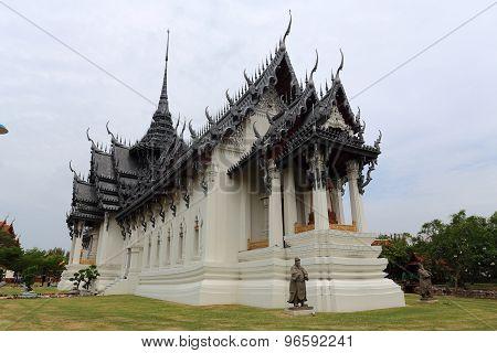 The Sanphet Prasat at Ancient Siam in Samut Prakan
