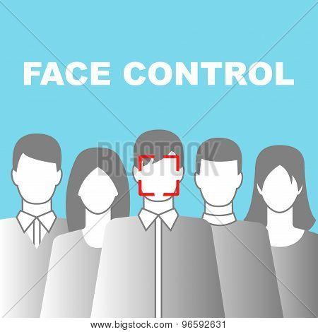 Face Control Icon