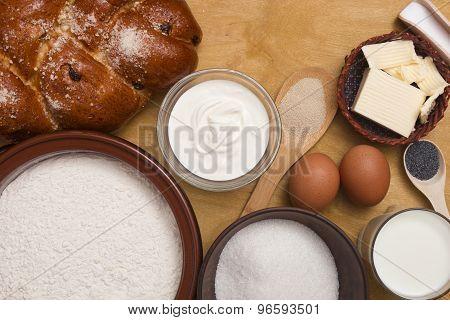 Bread Dough With A Brew