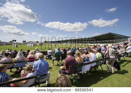 People Enjoying The Great Yorkshire Show