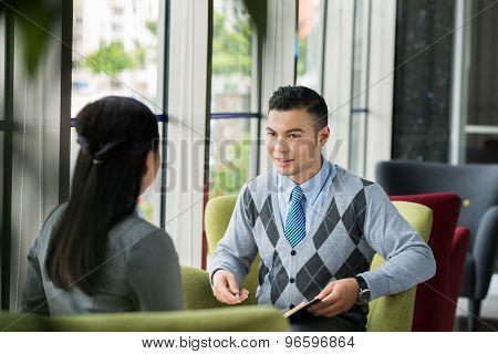 Handsome Manager
