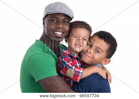 Family Of Three Men