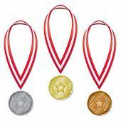 Medals - Star & Laurels