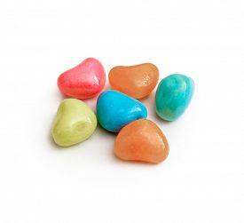 stock photo of bonbon  - Multicolor bonbon sweets  - JPG