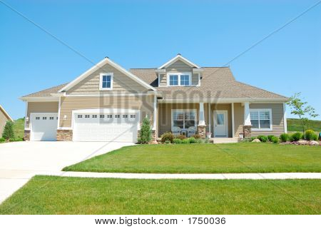 Residential Upscale American House
