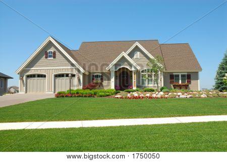 Casa americana exclusivo residencial