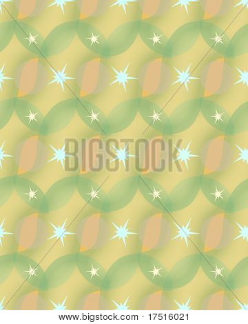 Sunny stars pattern