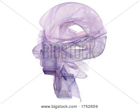 Abstract Human Head