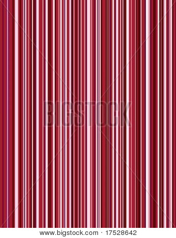 A vector image of a red pin stripe pattern.